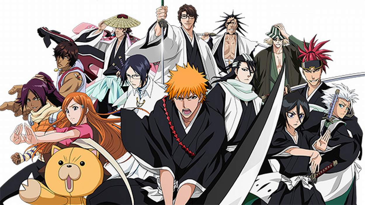 corpset bleach kyo Topics thumb - 【BLEACH】一護と日番谷冬獅郎